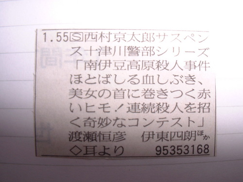 十津川警部シリーズ 南伊豆高原殺人事件